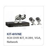 DVR EZ KIT-4HVNE